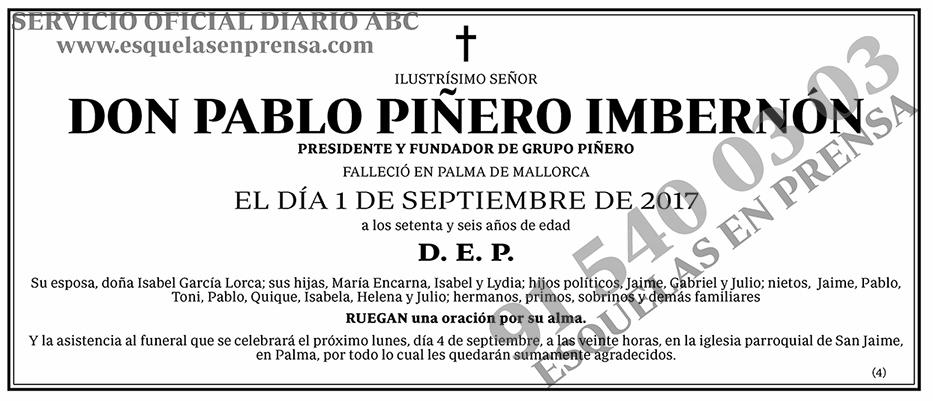 Pablo Piñero Imbernón